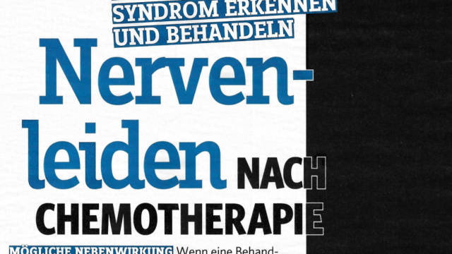 Nervenleiden nach Chemotherapie (gesund & fit, September 2020)